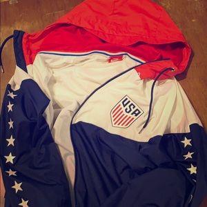 Team USA Authentic Soccer Team Jacket Nike